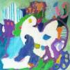 A15 Geheimnisvolle Welt III 2007 Oel LW 30x30